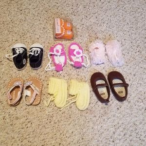 Other - Huge lot of baby shoes almost new.